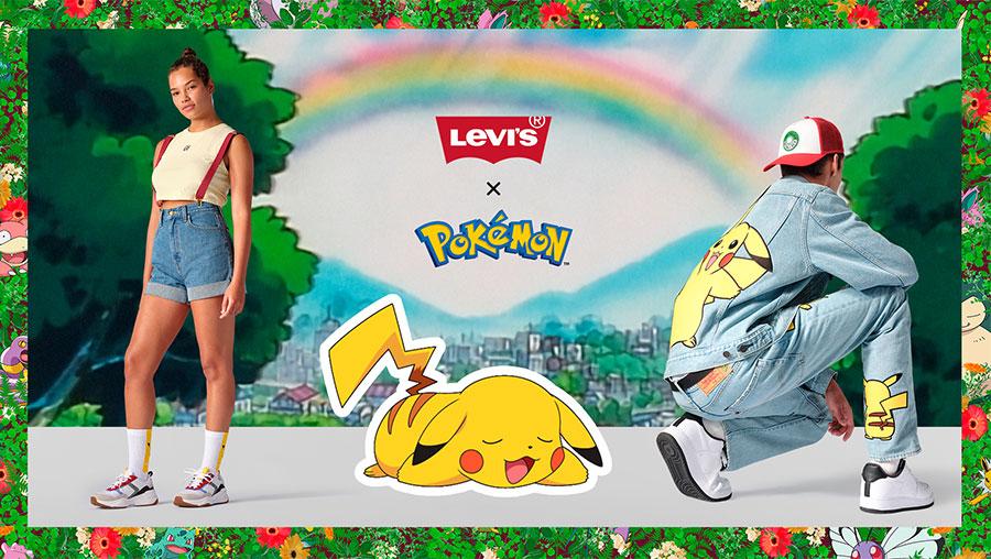 Foto de La colección de ropa Levi's x Pokémon ya se encuentra en Perú