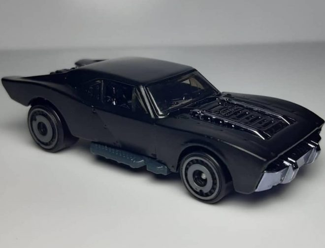 Fotos de Primer Vistazo al Batmobile de The Batman que lanzará Hot Wheels
