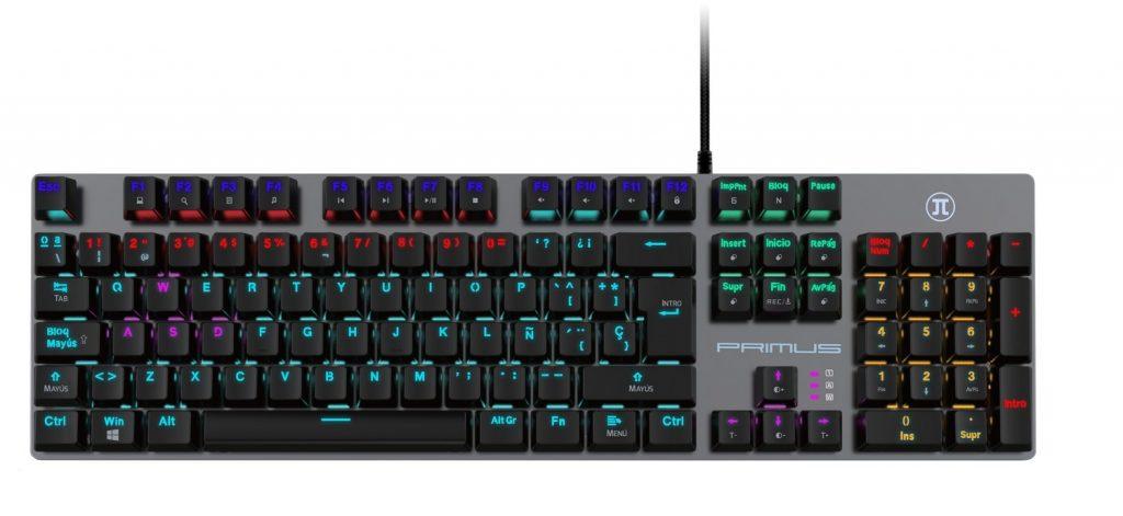 Foto de Primus Gaming presenta Ballista90T, su nuevo teclado mecánico para gamers