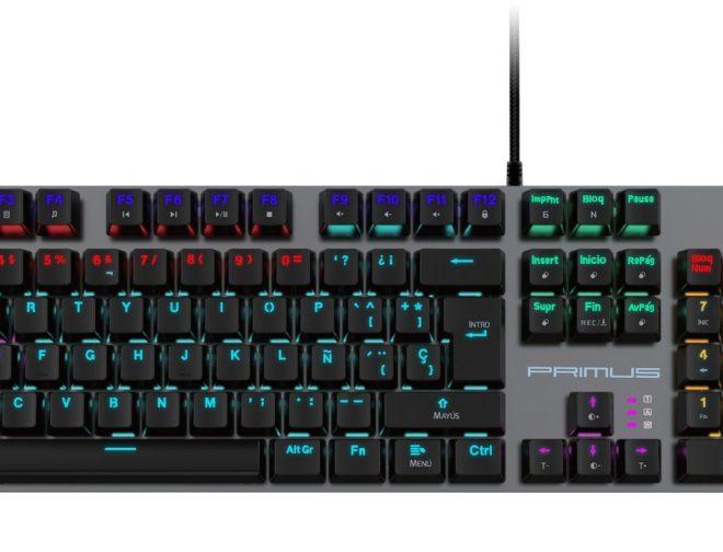 Fotos de PRIMUS: ¿Por qué el teclado mecánico es mejor para los videojuegos?
