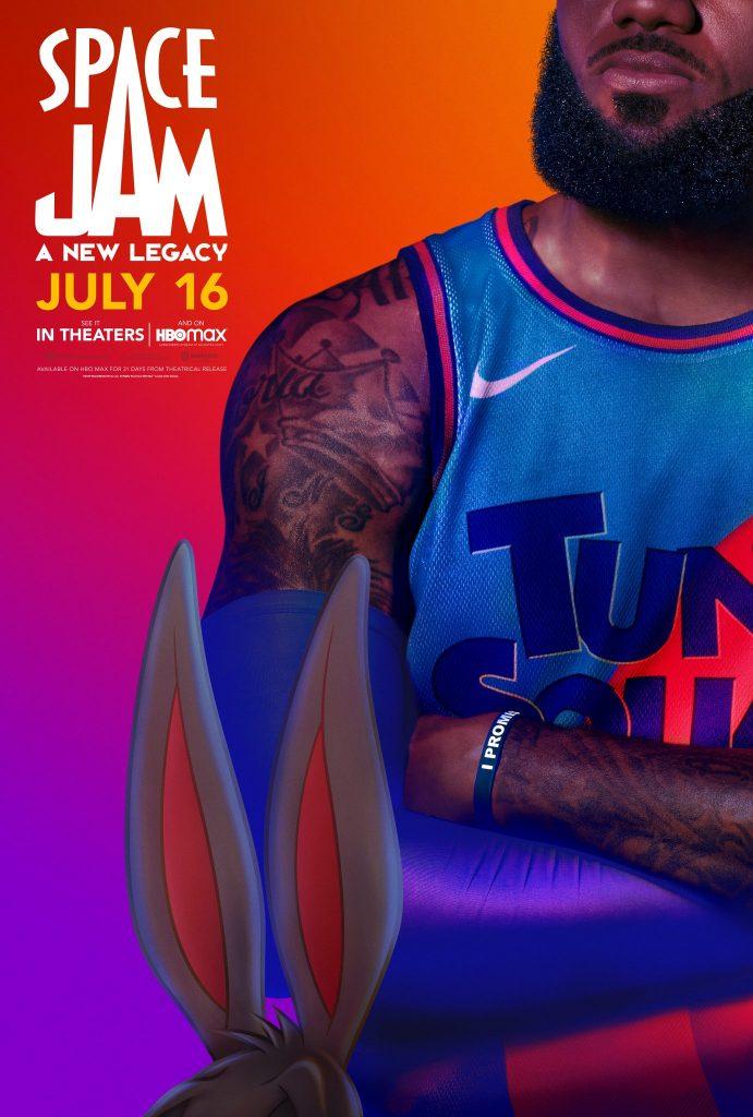 Foto de LeBron James da a conocer los primeros pósters de la película Space Jam: A New Legacy