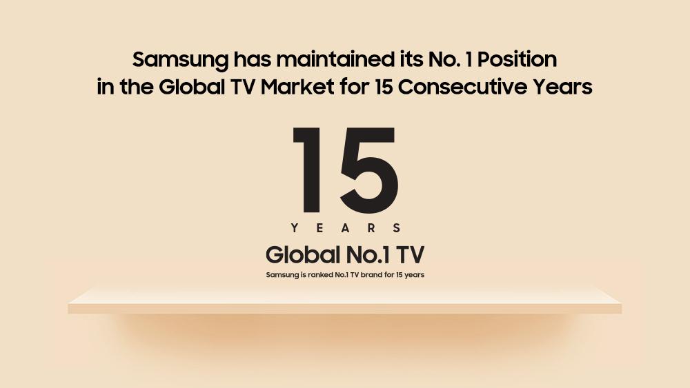 Foto de Cronología del liderazgo de los televisores Samsung a lo largo de los años