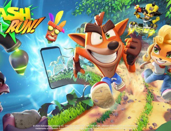 Fotos de Crash Bandycoot: On the run! Llega a Android y iOS GRATIS