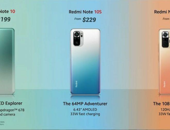 Fotos de Xiaomi lanza al mercado el Redmi Note 10 Series