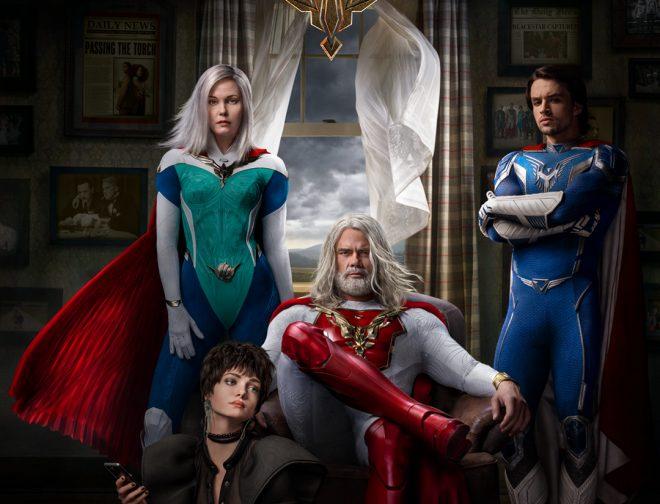 Fotos de Netflix revela el primer tráiler de Jupiters Legacy su serie de superhéroes