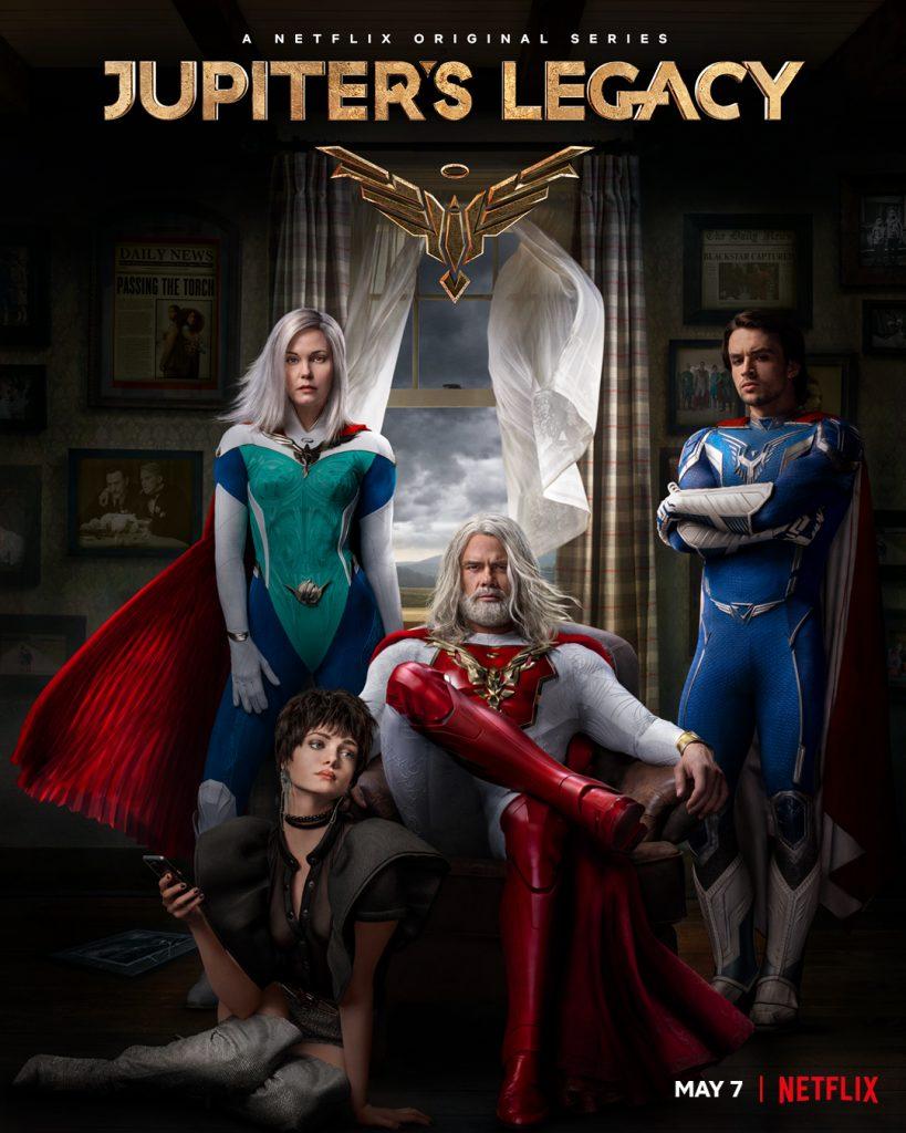 Foto de Netflix revela el primer tráiler de Jupiters Legacy su serie de superhéroes