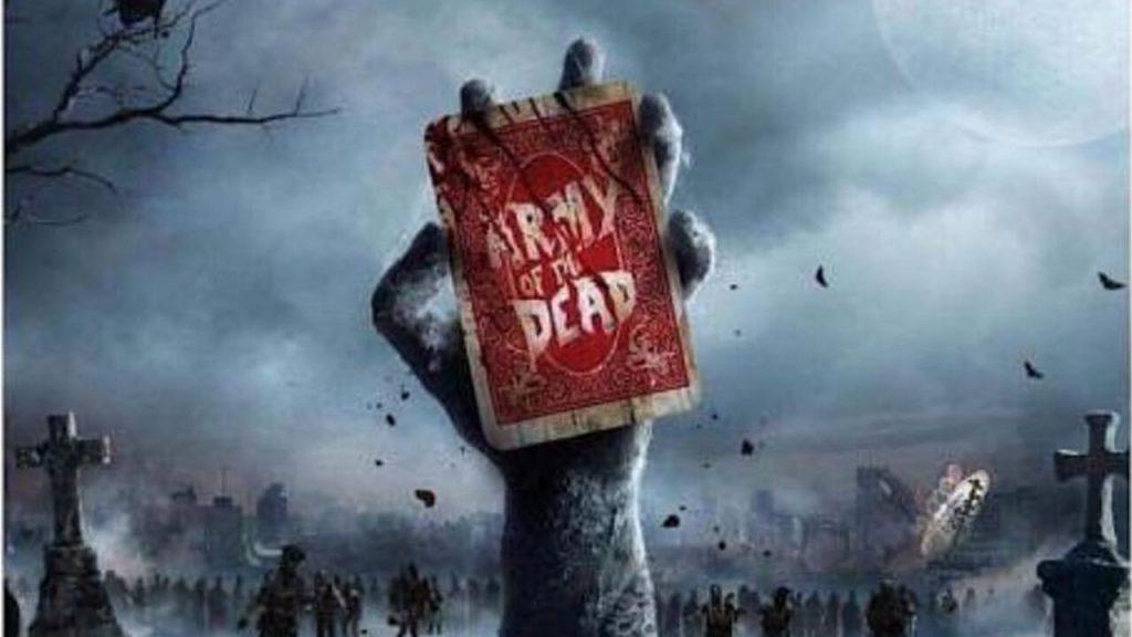 Foto de El actor Dave Bautista da a conocer un nuevo póster de la película Army Of The Dead