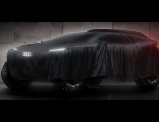 Fotos de La marca alemana Audi se prepara para debutar en el Dakar 2022