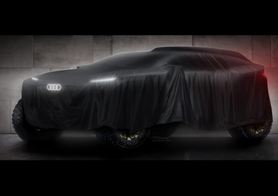 Foto de La marca alemana Audi se prepara para debutar en el Dakar 2022