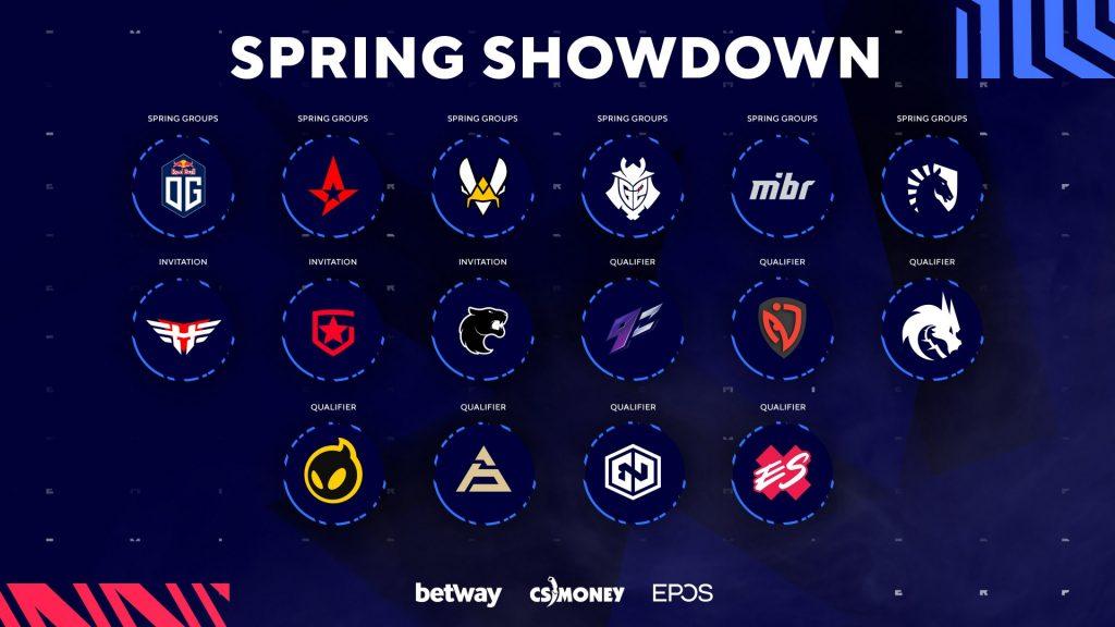 Foto de CSGO: Conoce a los equipos y jugadores que estarán en el torneo de la BLAST Premier Spring Showdown
