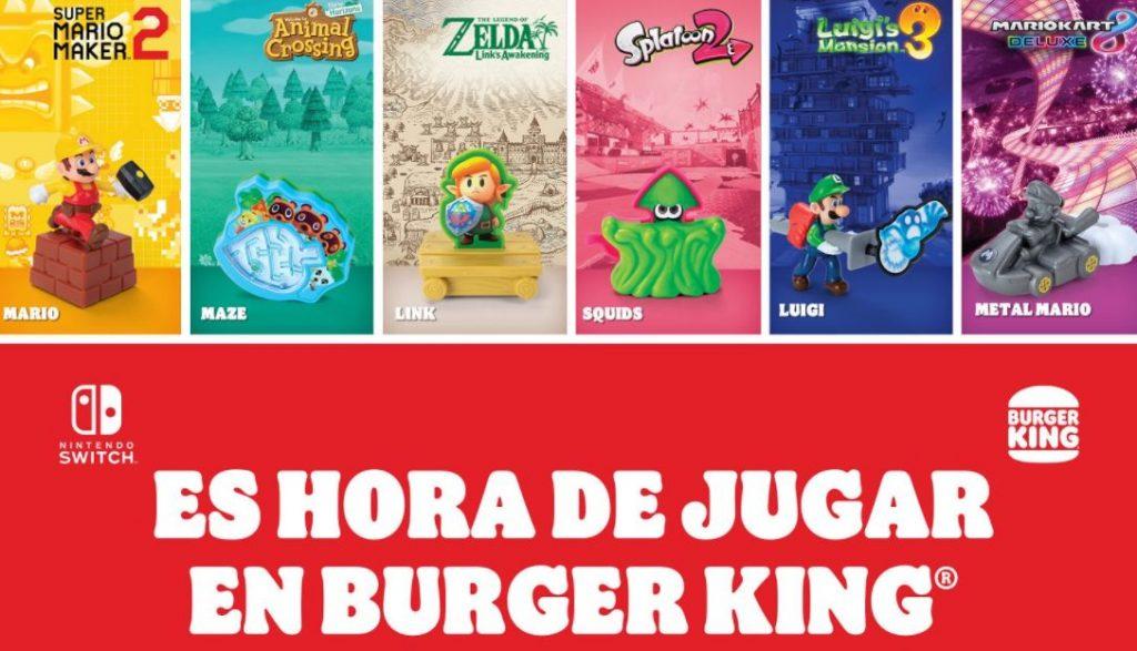 Foto de Los personajes de Nintendo llegan en una nueva promoción a Burger King