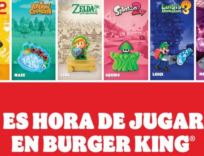 Fotos de Los personajes de Nintendo llegan en una nueva promoción a Burger King