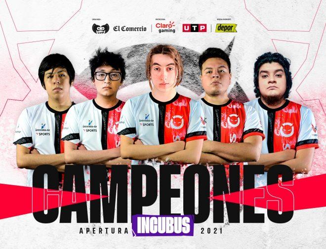 Fotos de Incubus Gaming se consagró como el campeón del Apertura de la Claro Gaming Stars League 2021
