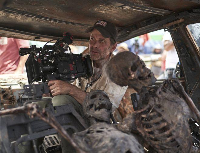 Fotos de Netflix producirá la nueva película de Zack Snyder, lleva por nombre  Rebel Moon
