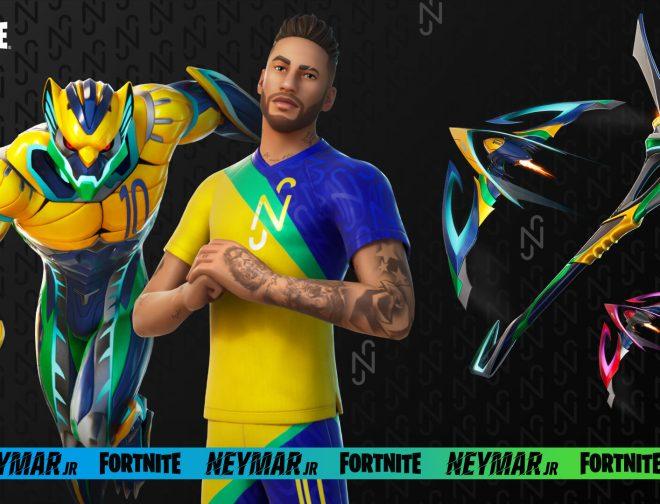 Fotos de Con un tráiler se anuncia la llega del jugador de fútbol Neymar Jr a Fortnite