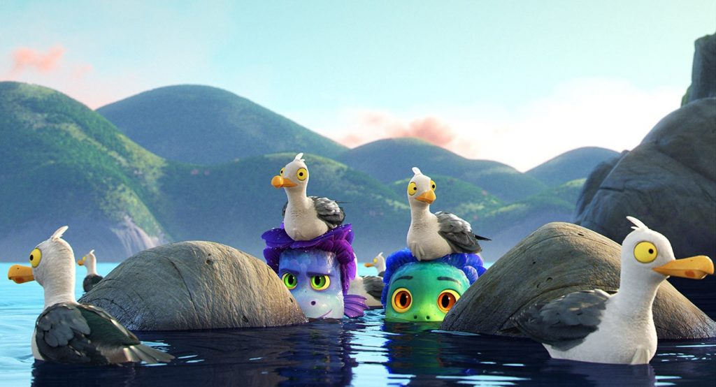 Foto de Hermoso y divertido nuevo tráiler de LUCA, película de Disney y Pixar