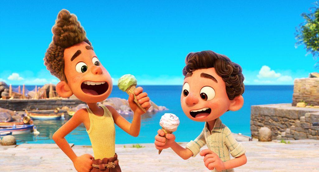 Foto de Detrás de escena de Luca: Secretos del arte, animación y la música de la película de Disney y Pixar