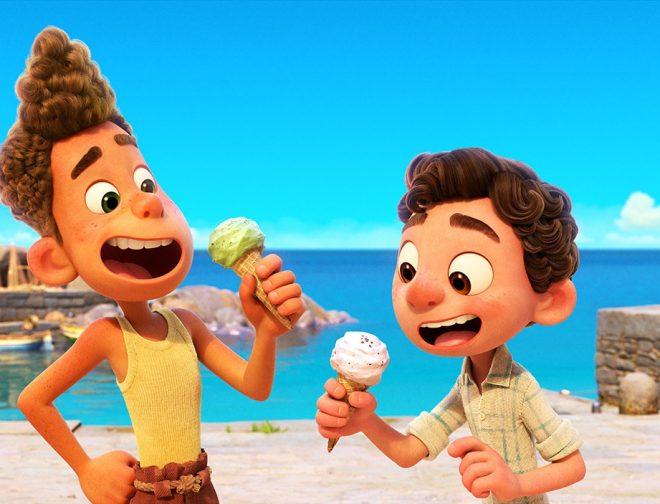 Fotos de Detrás de escena de Luca: Secretos del arte, animación y la música de la película de Disney y Pixar
