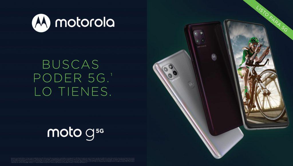 Foto de Motorola y Claro anuncian la llegada al Perú del nuevo moto g 5G