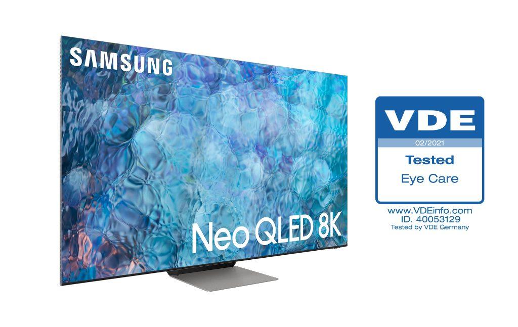 Foto de Los Neo QLED 2021 de Samsung reciben la primera certificación 'Eye Care' de la industria por VDE