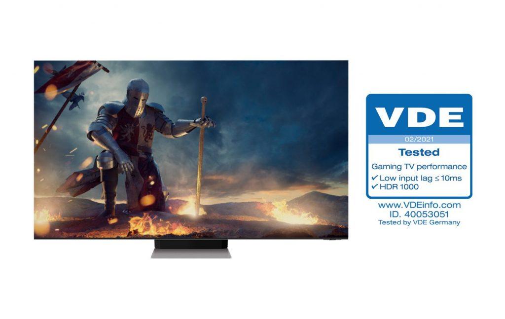 Foto de Los NEO QLED reciben la primera certificación de 'Rendimiento de TV para Juegos' del sector de VDE en Alemania