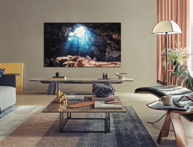 Fotos de Inmersión completa: el diseño minimalista de los televisores Neo QLED 8K de Samsung