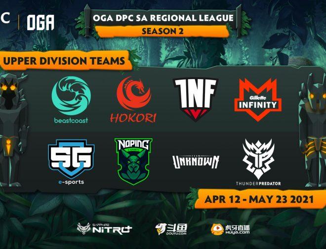 Fotos de Enfrentamientos y horarios de la primera división de la Liga Regional de Dota 2 en Sudamérica