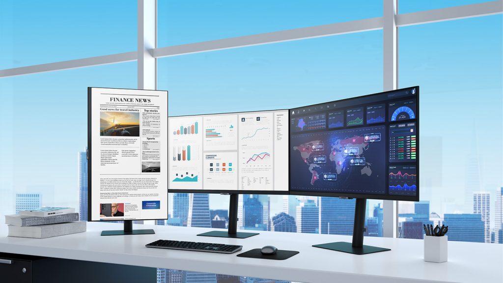 Foto de Samsung lanza nueva línea de monitores 2021 de alta resolución