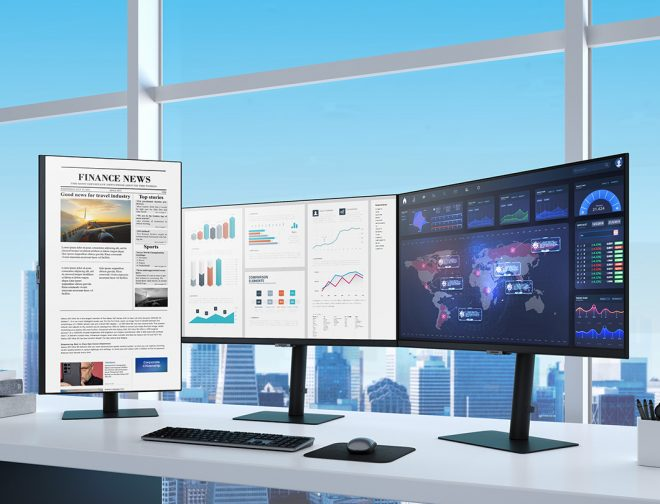 Fotos de Samsung lanza nueva línea de monitores 2021 de alta resolución