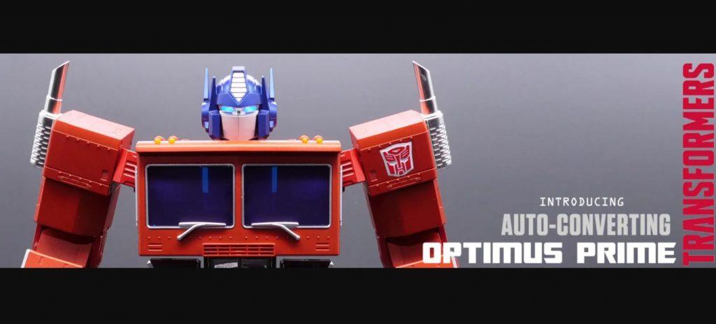 Foto de Ya puedes tener una figura de Optimus Prime que se transforma y camina sola