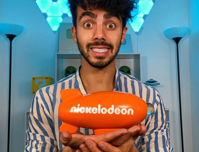 """Fotos de YouTuber Fede Vigevani es elegido como """"Influencer Latino del Año"""" por Nickelodeon"""