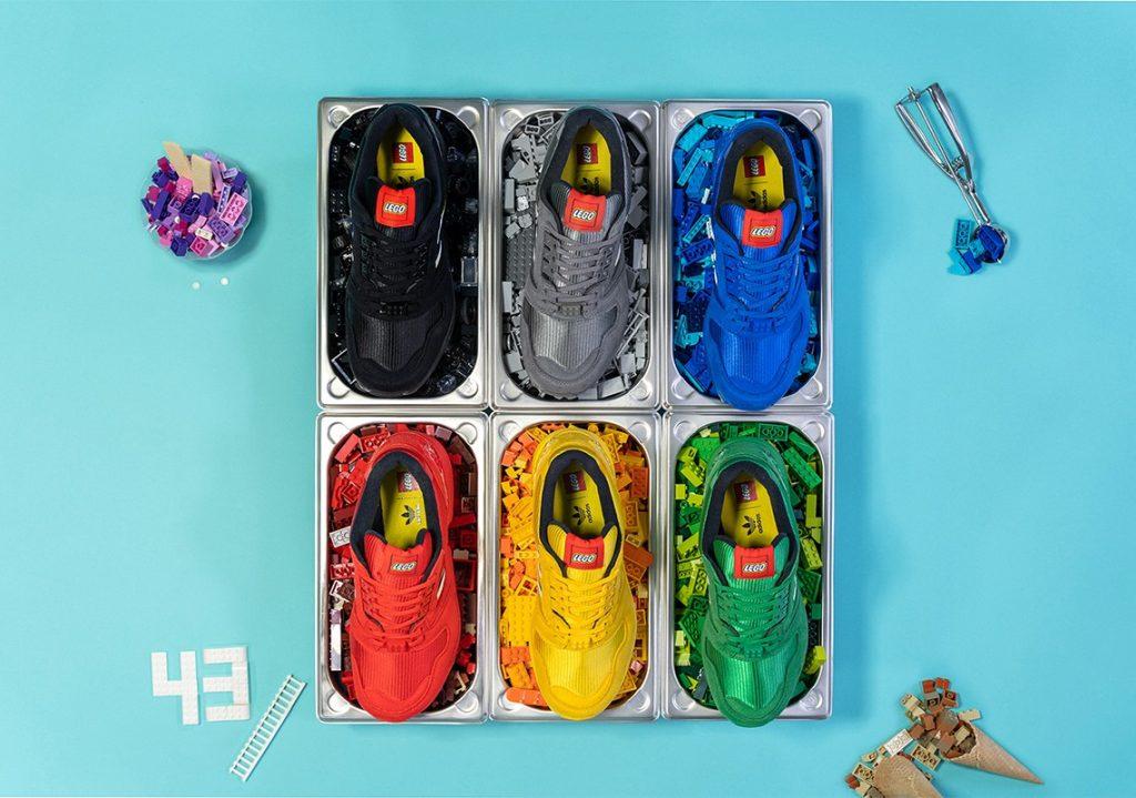 Foto de Primer vistazo a la colección de zapatillas LEGO x Adidas Bricks ZX 8000