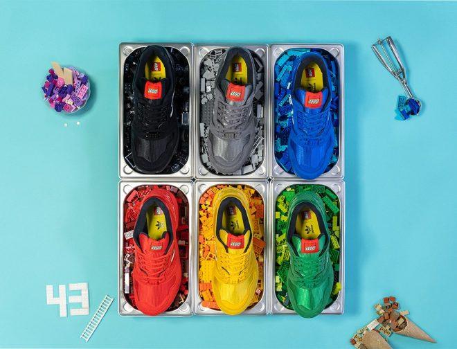 Fotos de Primer vistazo a la colección de zapatillas LEGO x Adidas Bricks ZX 8000