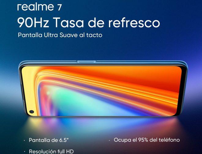 Fotos de Conociendo el realme 7: El nuevo Smartphone conocido como el móvil gaming