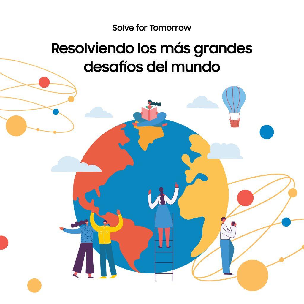Foto de Solves for Tomorrow de Samsung inspira a jóvenes de todo el mundo a innovar para el cambio