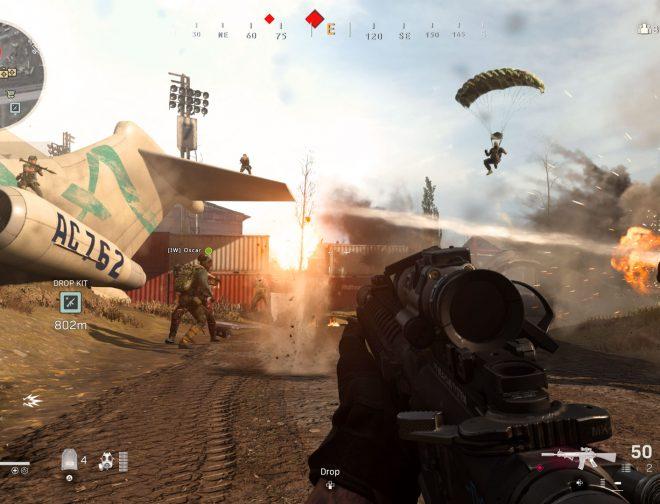 Fotos de COD: Warzone aterriza en AMD Red League