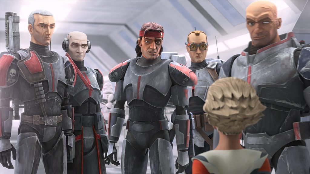 Foto de Disney Plus lanza un nuevo tráiler y pósters de la serie animada Star Wars: The Bad Batch