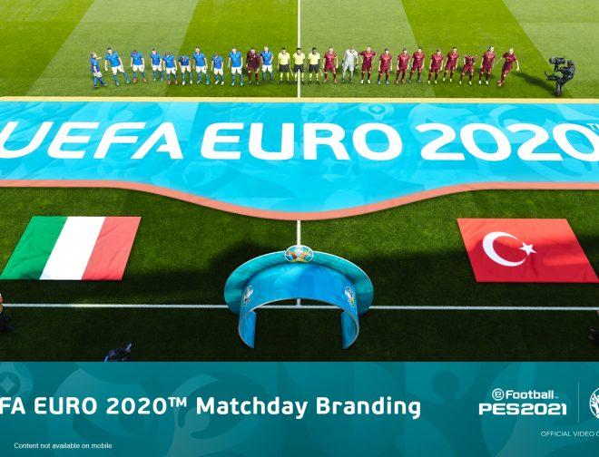 Fotos de Prepárese para UEFA EURO 2020 con el nuevo contenido del juego eFootball PES 2021
