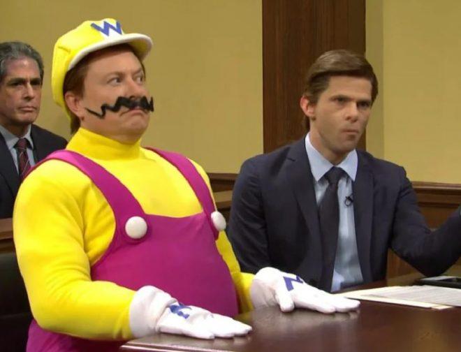 Fotos de Elon Musk es Wario en el sketch sobre la muerte de Mario de Saturday Night Live