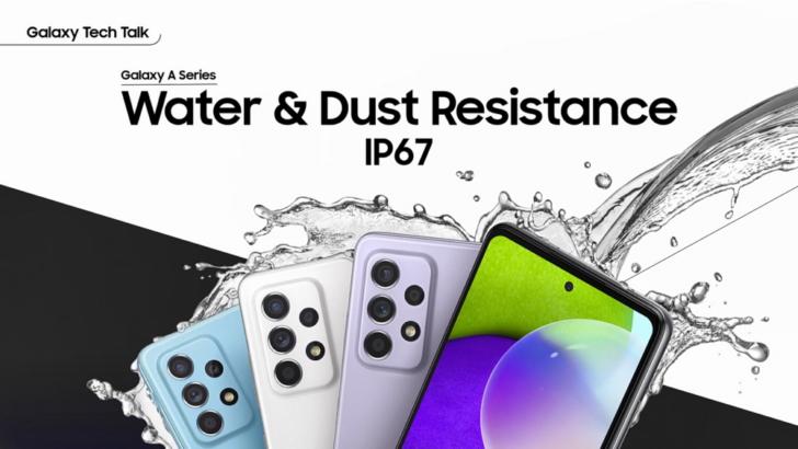 Foto de Los Galaxy A52 y A72 llegan con resistencia al agua y al polvo para que puedas disfrutar más de ellos