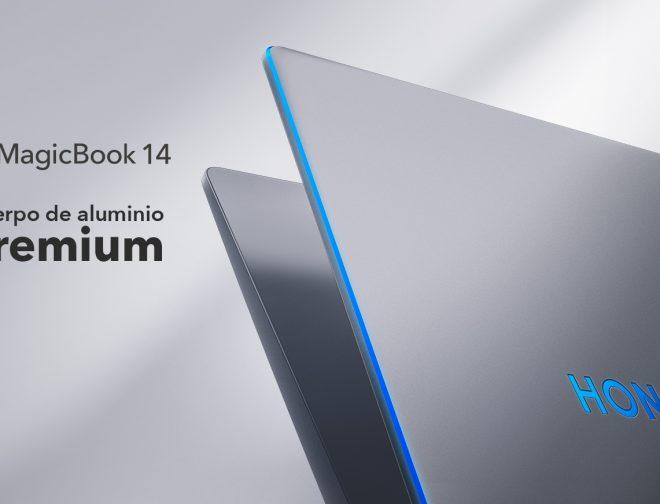 Fotos de 5 características de la HONOR MagicBook 14 a considerar para trabajar a distancia y adquirirla desde hoy
