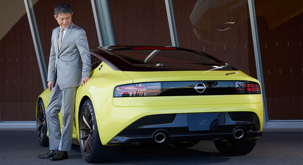 Foto de Hiroshi Tamura, jefe de productos de Nissan habla del esperado Z Proto
