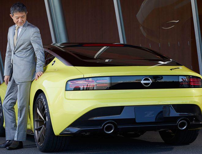 Fotos de Hiroshi Tamura, jefe de productos de Nissan habla del esperado Z Proto