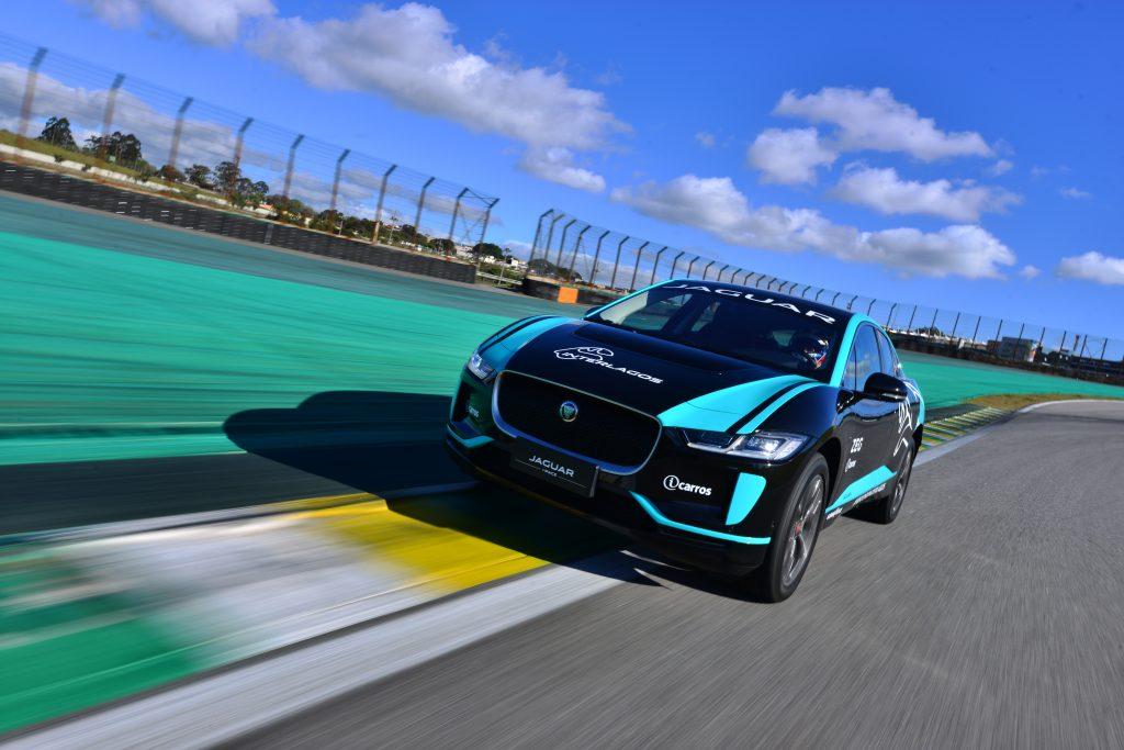 Foto de El Jaguar I-PACE, establece un nuevo récord en el Autódromo de Interlagos en São Paulo