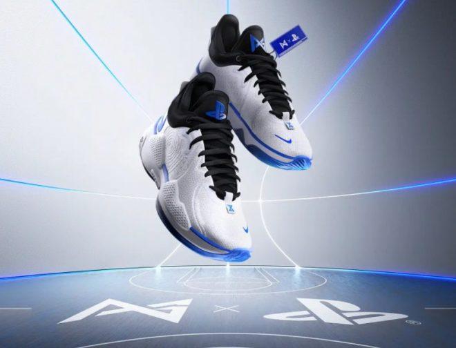Fotos de Se lanzan oficialmente las zapatillas de Nike, las PG 5 PlayStation 5 Colorway