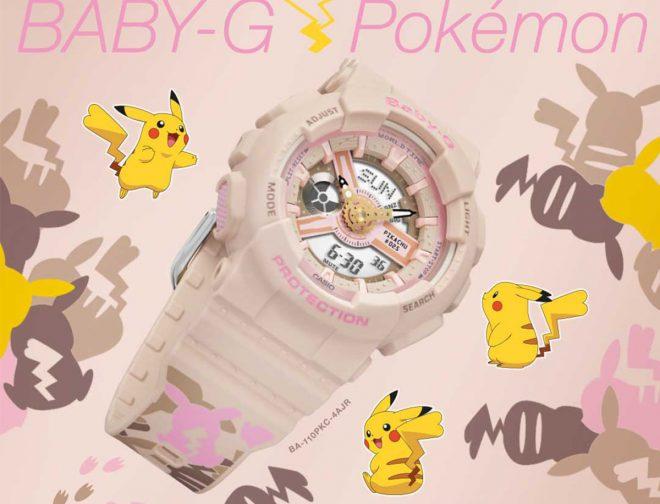 Fotos de G-Shock Perú, anuncia la llegada del reloj BABY-G x Pikachu