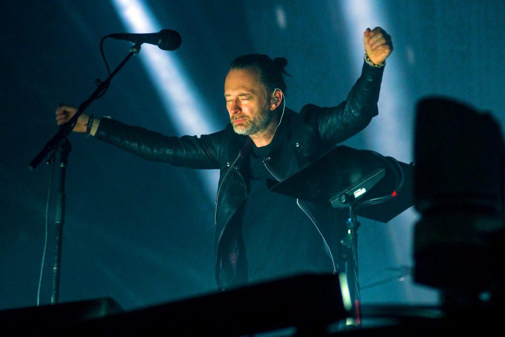 Foto de Radiohead anuncia la transmisión del concierto que dio en Lima en el 2018