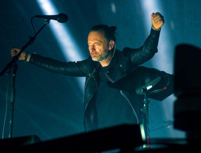 Fotos de Radiohead anuncia la transmisión del concierto que dio en Lima en el 2018