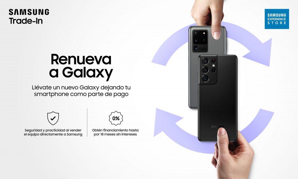 Foto de Renueva tu celular: Llévate un nuevo Galaxy dejando tu smartphone como parte de pago