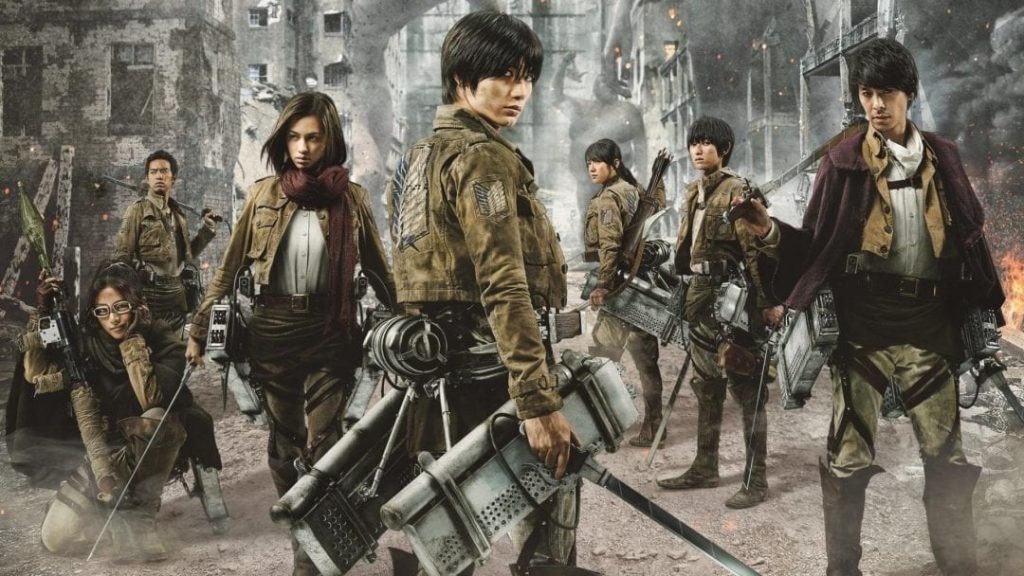 Foto de Las películas live action de Attack on Titan ya se encuentran en Netflix